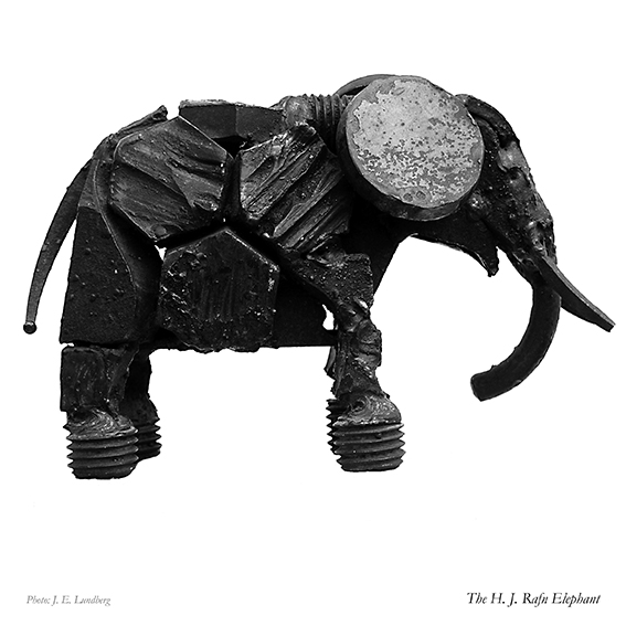 Elefant. Elephant. Can be casted in bronze. Ask us for price.