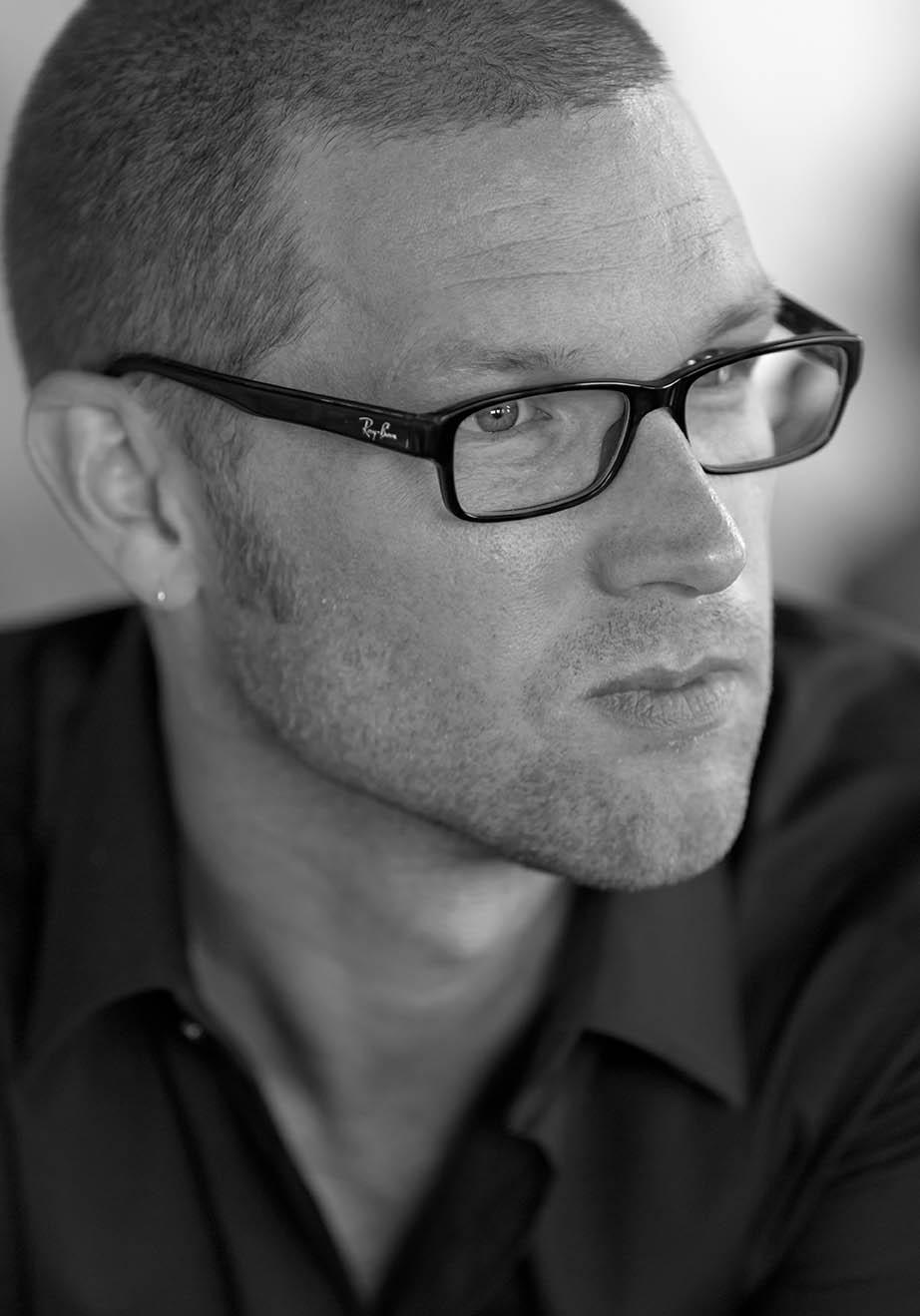 Jonas W. Rasmussen, Læsø Litteraturfestival 2014. Foto: Lars Gundersen