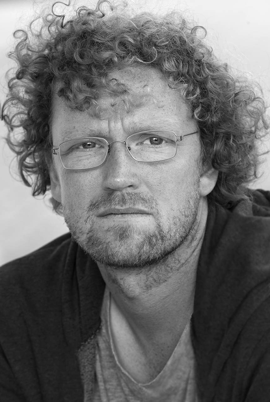 Lars Frost, Læsø Litteraturfestival 2014. Foto: Lars Gundersen