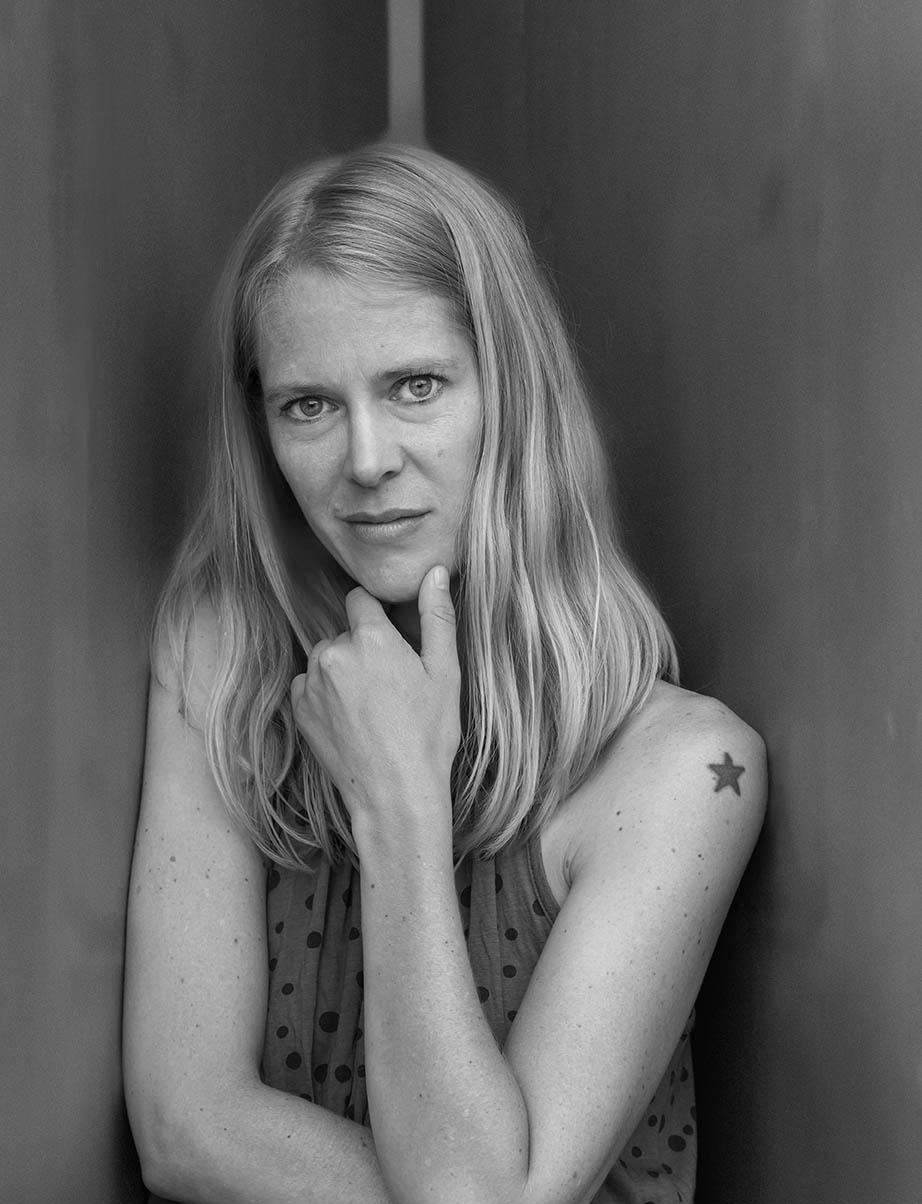 Hilde Susan Jaegtnes,  Læsø Litteraturfestival 2014. Foto: Lars Gundersen