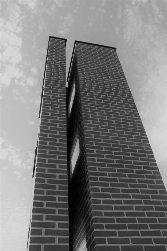 Per Kirkeby, Window Tower, Vinduestaarnet, Laesoe Art Hall, Læsø Kunsthal 2018, Foto: Inger Nielsen