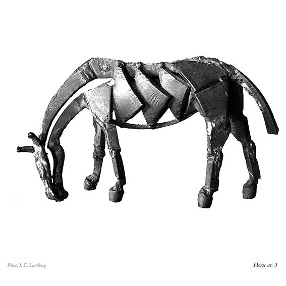 Tidlig hest. Early horse model.