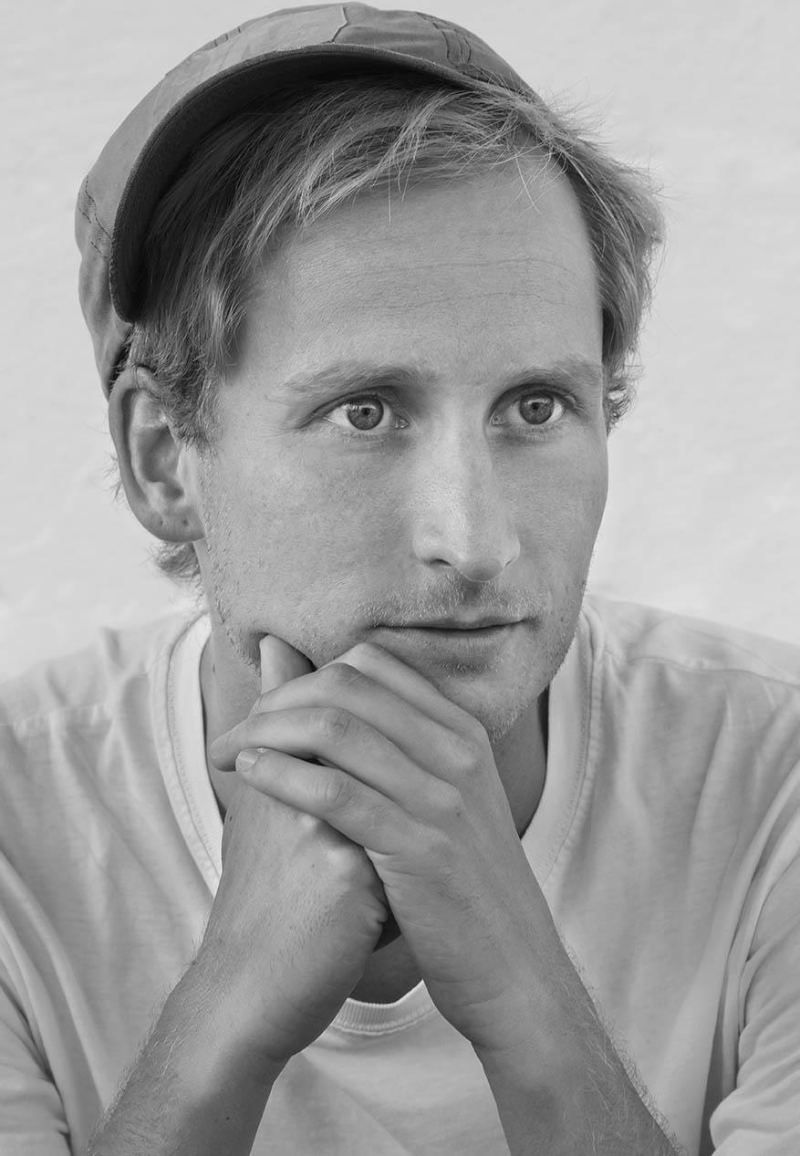 Morten Chemnitz, Læsø Litteraturfestival 2014. Foto: Lars Gundersen