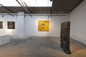 Per Kirkeby exhibition, Laesoe Art Hall, 2016. Photo: Lars Bay