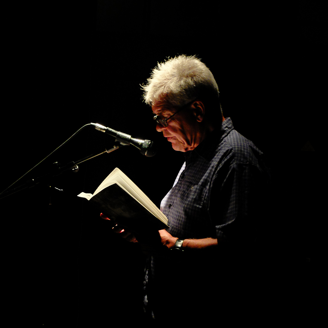 Ib Michael, Læsø Litteraturfestival 2018, Foto: Jon Eirik Lundberg