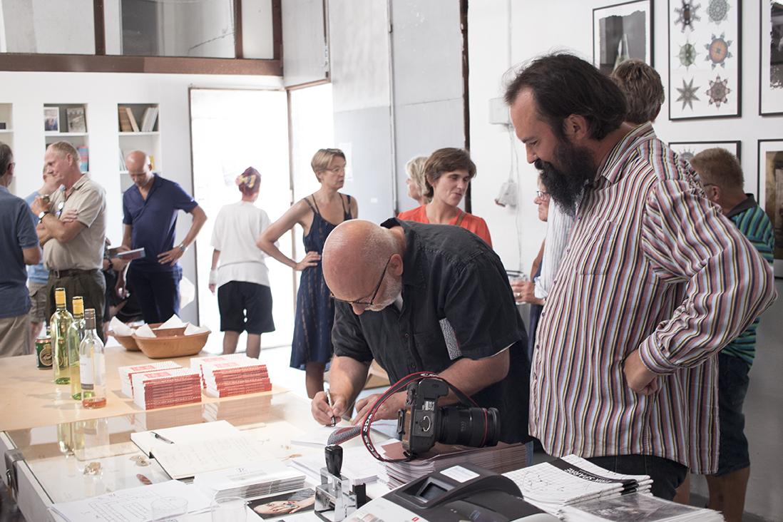 Lars Gundersen, Tanker om fotografi, Læsø Kunsthal 2018. Foto: Jon Eirik Lundberg