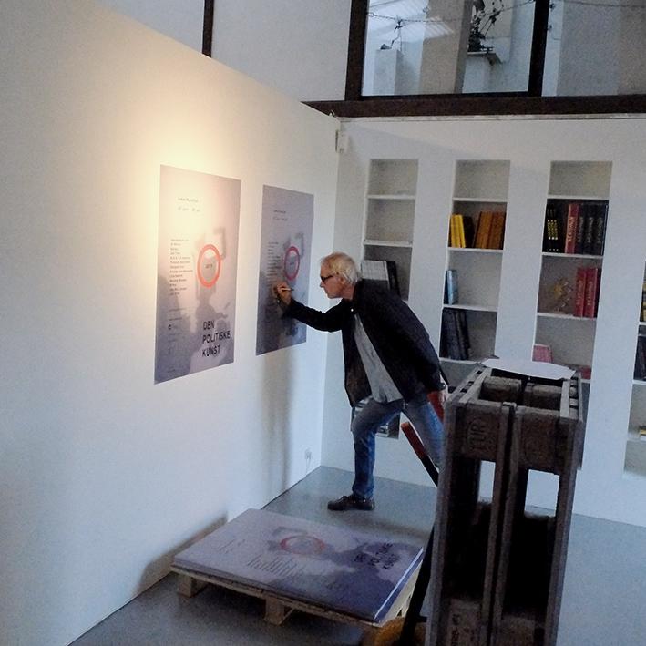 the artist Lars Vilks in Warzaw 2021